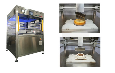 Ultrasonic Cutting Industrial Bakery Machines
